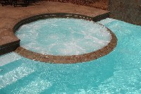 Caesars Palace Fiberglass Pool and Spa in Gainestown, AL