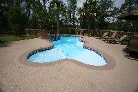Desert Springs Fiberglass Pool and Spa in Canoga Park, CA